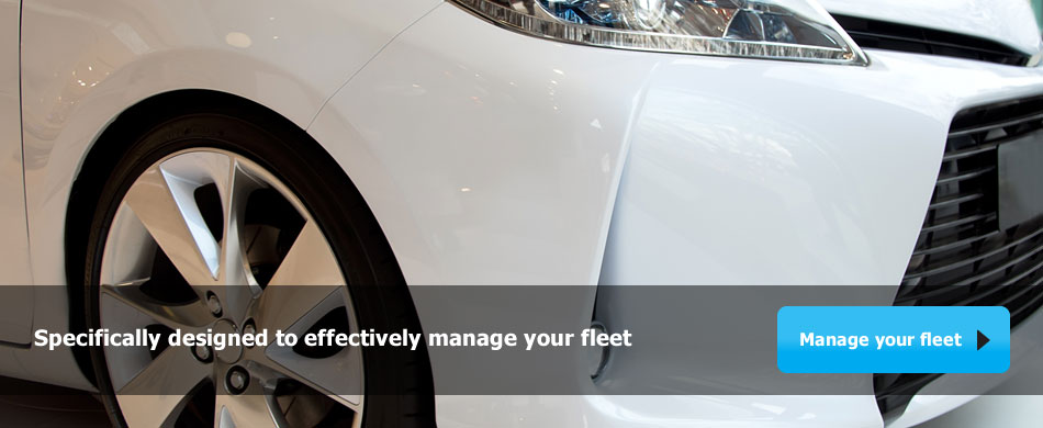 Specifically designed to effectively manage your fleet - Manage your fleet